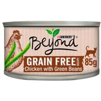 Beyond Grain Free Cat Food Chicken Green Beans