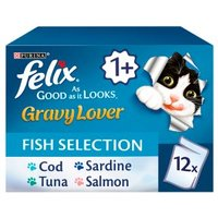 Felix As Good as it Looks Gravy Lover Fish