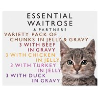 essential Waitrose Meat Selection in Jelly & Gravy