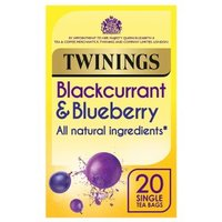 Twinings Blackcurrant & Blueberry 20 Teabags
