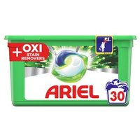 Ariel All in 1 Pods + Oxi Stain Remover 32s