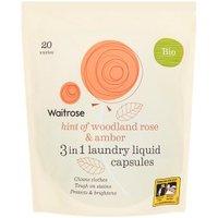 Waitrose Laundry Capsules Bio Woodland Rose