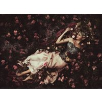 Fine Art Photography Print, Sleeping Beauty, Fantasy Giclee Print, Limited Edition of 25