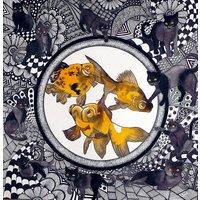 Night Garden Goldfish Bowl