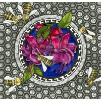Night Garden Honey Bees