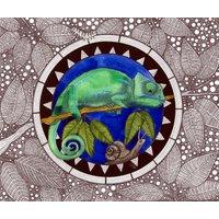Night Garden Chameleon
