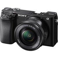 Sony A6100 + 16-50mm + 55-210mm Twin Kit - Black