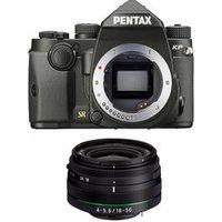 Pentax KP with 18-50mm WR Lens Kit - Black