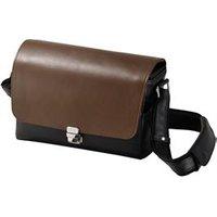 Olympus CBG-11 PR High Value Black/Brown Leather Bag