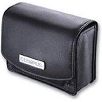 Leather Case for MJU Digital Cameras Black