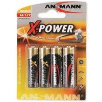 Ansmann X-Power 4x AA Batteries