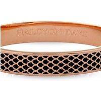 Ladies Halcyon Days Rose Gold Plated Salamander Bangle HBSAL0210RG