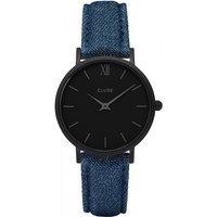 Image of Ladies Cluse Minuit Full Black Watch CL30031
