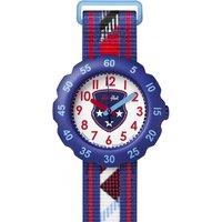 Childrens Flik Flak Tartan Style Watch FPSP012