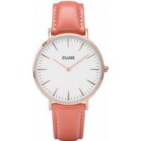 Image of Ladies Cluse La Boheme Limited Edition Flamingo Pink Watch CL18032