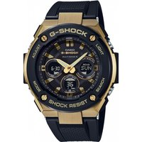 Image of Mens Casio G-Steel Midsize Alarm Chronograph Radio Controlled Watch GST-W300G-1A9ER