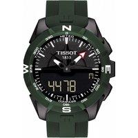 Mens Tissot T-Touch Expert Solar II Alarm Chronograph Solar Powered Watch T1104204705100