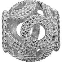 Ladies Christina Sterling Silver Seven Seas Bead Charm 623-S71