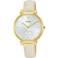 Ladies Pulsar Dress Leather Watch PN4058X1