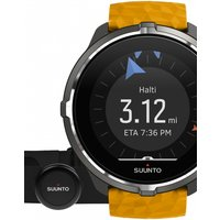Unisex Suunto Spartan Wrist HR Barometer Bluetooth Chest Strap Set Alarm Chronograph Watch SS050002000
