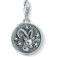 Ladies Thomas Sabo Sterling Silver Charm Club Zodiac Sign Capricorn Charm 1649-643-21