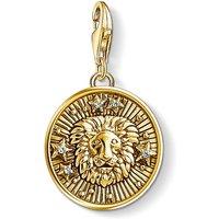 Ladies Thomas Sabo Gold Plated Sterling Silver Charm Club Zodiac Sign Leo Charm 1656-414-39
