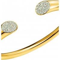 Ladies Calvin Klein Gold Plated Brilliant Bangle KJ8YJF14010M