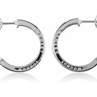 Image of Ladies Radley Sterling Silver Love Radley Earrings RYJ1011