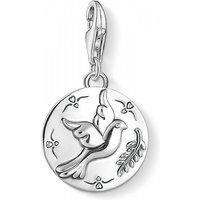 Ladies Thomas Sabo Sterling Silver Charm Club Dove Charm 1701-637-21