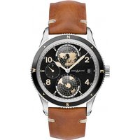 Image of Mens Montblanc 1858 Geosphere World Timer Automatic Watch 119286