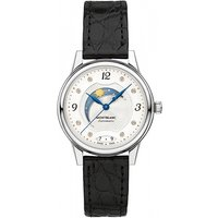 Image of Ladies Montblanc Boheme 30mm Day and Night Automatic Diamond Watch 114730