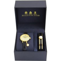 Agama Gift Set Pearl Charm Watch and Cabochon Pearl Bangle