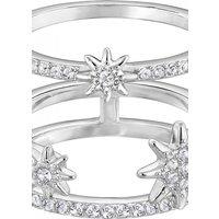 Ladies Swarovski Jewellery Fizzy Ring Set Size 55 Jewellery