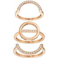 Ladies Swarovski Jewellery Flash Ring Set Size 58 Jewellery