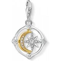 Image of Thomas Sabo Jewellery Compass Moon & Star Charm 1815-414-7