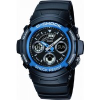 Image of Mens Casio G-Shock Alarm Chronograph Watch AW-591-2AER