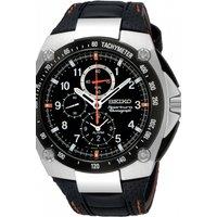 Image of Mens Seiko Sportura Alarm Chronograph Watch SNAD23P2