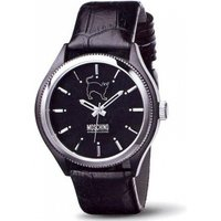 Image of Mens Moschino Lets Turn Black! Watch MW0068