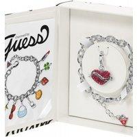 Guess Jewellery Tattoo Charmed Bracelet Charm Set JEWEL UBS81001