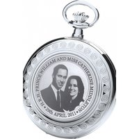Image of Royal London Royal Wedding Commemorative Limited Edition Pocket Watch 91111-01