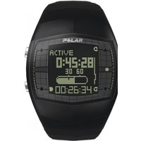 Image of Mens Polar Fitness FA20 Heart Rate Monitor Alarm Chronograph Watch 90032801