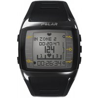 Image of Mens Polar Fitness FT60 Heart Rate Monitor Alarm Chronograph Watch 90036407