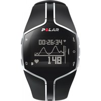 Image of Unisex Polar Fitness FT80 Heart Rate Monitor Alarm Chronograph Watch 90032785