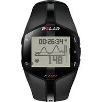 Image of Unisex Polar Fitness FT80 Heart Rate Monitor Alarm Chronograph Watch 90040139