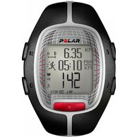Image of Mens Polar Fitness RS300X Heart Rate Monitor with S1 Footpod Alarm Chronograph Watch 90036623