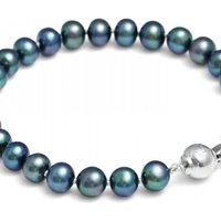 Jersey Pearl Black Pearl Bracelet JEWEL S487-5