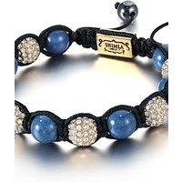 Image of Shimla Jewellery Blue and Gold Bracelet Small JEWEL SH-047S