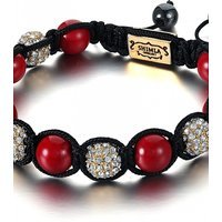 Image of Shimla Jewellery Red and Gold Bracelet Small JEWEL SH-048S