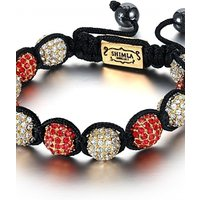 Image of Shimla Jewellery Red And White Bracelet Small JEWEL SH-027S