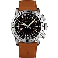 Image of Mens Glycine Airman Double 24 Automatic Watch 3886.196-LB6